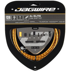 Jagwire 2X Elite Link Shift Cable Set gold